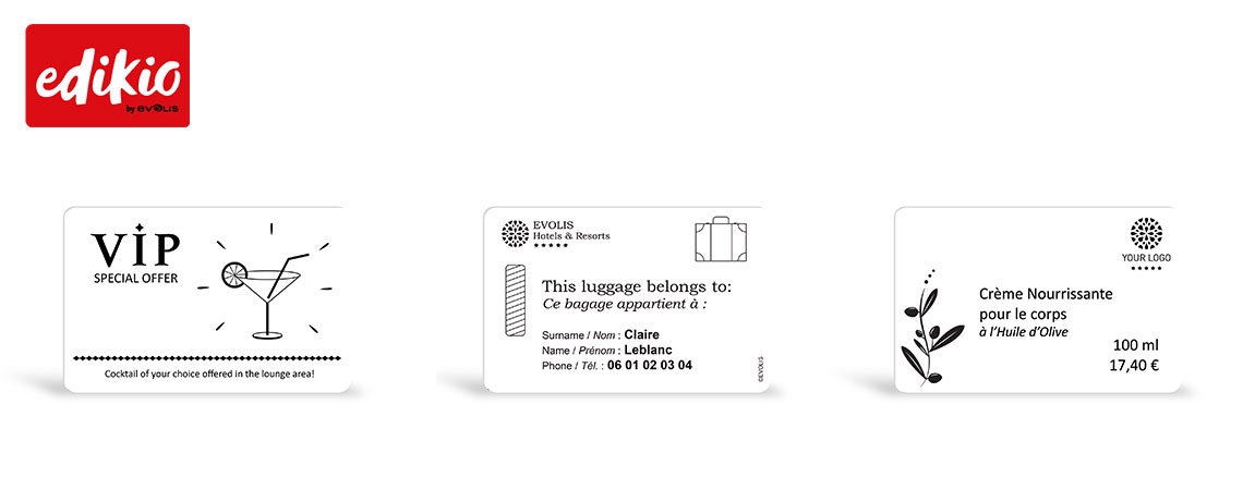 Paper cards for Edikio