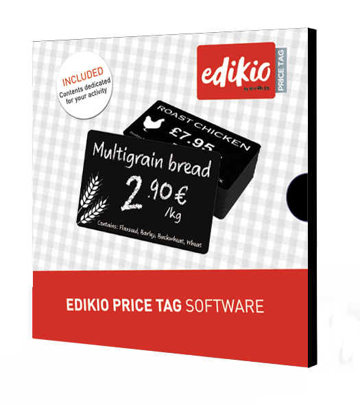 New Edikio Price Tag software