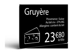 Edikio - Cheese shop Testimonial - Sample Cards
