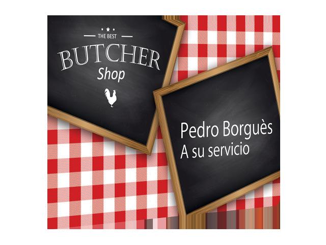 Badge employé pour Boucherie